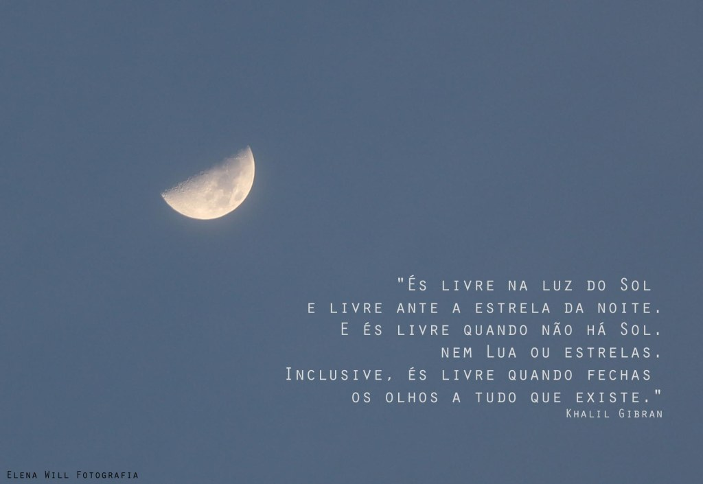 A lua com Khalil Gibran