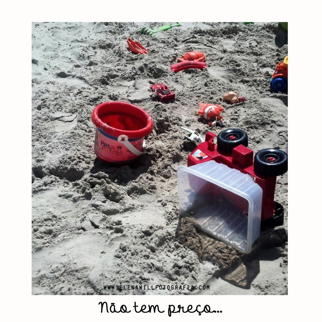 não tem preço areia