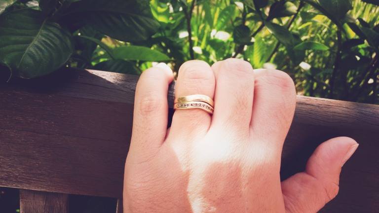 alianca de casamento nova